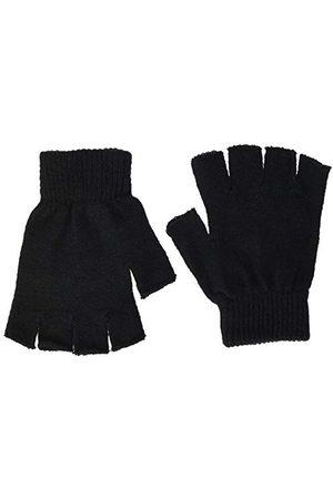 Urban classics Unisex 2-pak rękawiczek Half Finger Gloves, czarne (Black 0007), Large (rozmiar producenta: L/XL)