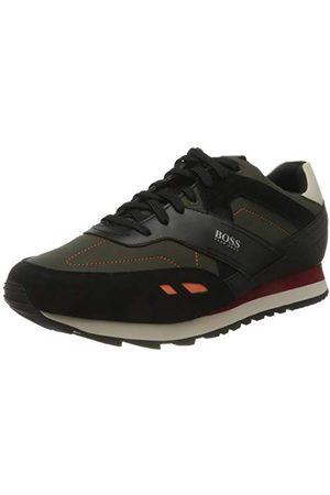 HUGO BOSS Męskie buty Parkour_runn_ltrp Sneaker, - Open Green340. - 45 EU