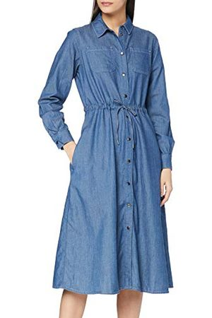 People Tree Damska lekka sukienka dżinsowa Annie na co dzień