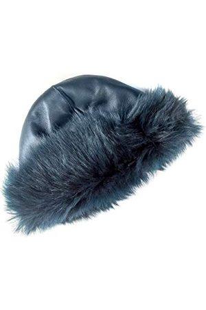 Coolskins Gorro Invierno Ruso Reversible, skóra jagnięca z długimi włosami i ukryciem, 100% skóra, wyprodukowano w Hiszpanii