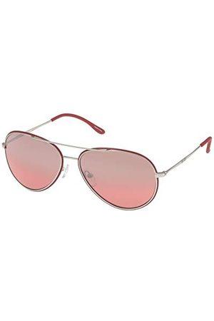 Police Unisex S8299M58Q05X okulary przeciwsłoneczne, czerwone (Rojo), 58