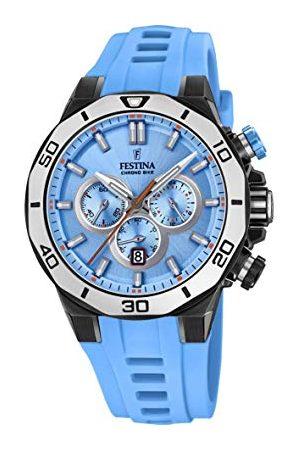 Festina F20450/6 kwarcowy zegarek dla dorosłych z silikonowym paskiem uniseks