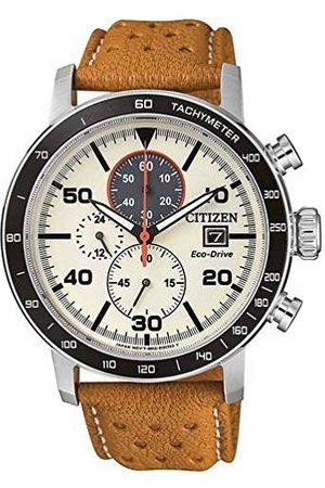 Citizen CA0641-16X męski chronograf kwarcowy zegarek ze skórzanym paskiem