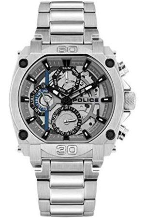 Police Unisex dla dorosłych analogowy zegarek kwarcowy z bransoletką ze stali szlachetnej PL15472JS.13M