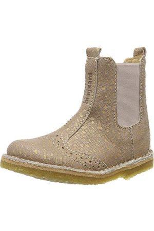 Bisgaard Damskie buty Nori Chelsea Boots, - Pink Nude Square 720-37 eu