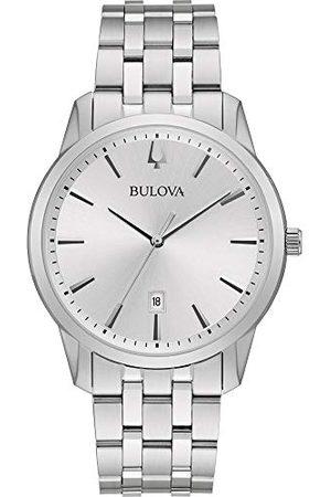 BULOVA Męski analogowy zegarek kwarcowy z paskiem ze stali nierdzewnej 96B342