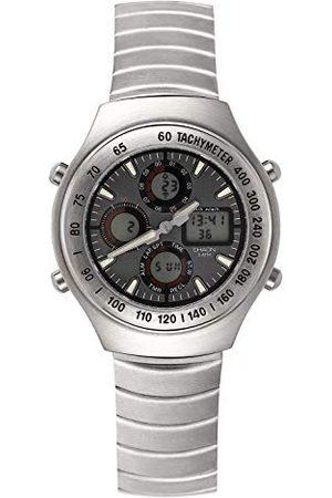 Shaon Męski zegarek na rękę analogowy - cyfrowy kwarcowy 44-7900-48