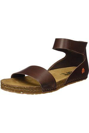Art Damskie sandały Creta Slingback, brązowy - Br?zowy Br?zowy - 37 eu