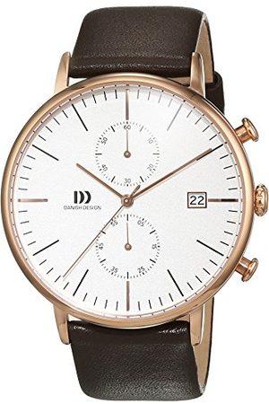 Danish Design Męski zegarek na rękę chronograf kwarcowy skóra IQ17Q975