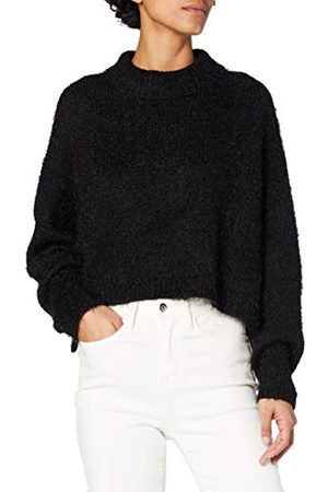 Urban classics Damska bluza z kapturem oversized Turtleneck Feather