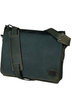 Pride and Soul Pride&Soul Candy skórzana torba na ramię na laptopa - brązowa