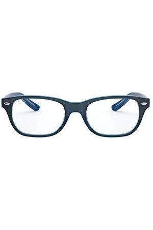 Ray-Ban Unisex dla dzieci 0RY 1555 3667 46 oprawki okularów, (Topo Blue On Blue Fluo)