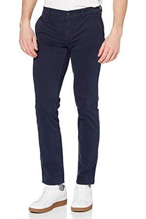 HUGO BOSS Mężczyzna Rurki - Męskie spodnie Schino-Slim D, niebieskie (ciemnoniebieskie 402), W 33/L 30