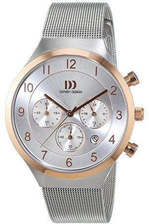 Danish Design Męski zegarek na rękę analogowy kwarcowy stal szlachetna 3314480