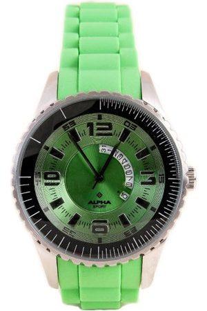 Alpha Saphir Męski zegarek kwarcowy 231F z gumowym paskiem