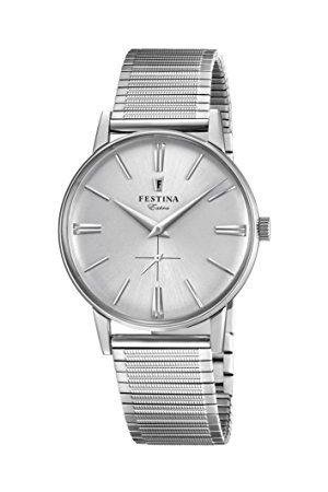 Festina F20250/1 męski analogowy zegarek kwarcowy z bransoletką ze stali nierdzewnej