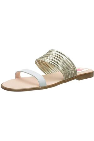 Pablosky Sandały dla dziewczynek 849108 z odkrytymi palcami, Gold Dorado 849108-21 EU