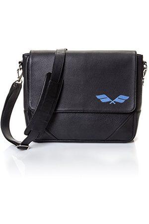 STARLITE Messenger Náutica Antonio Banderas Design, negro torba na ramię, czarna (czarna), 9,5 x 28,5 x 35 cm