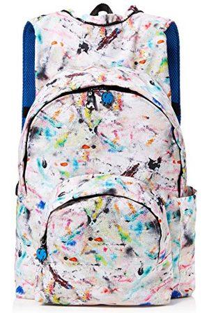 Morikukko Unisex-dorosły plecak z kapturem kool pollock niebieski plecak wielokolorowy ( niebieski pollock)
