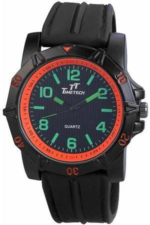 Shaghafi Męski analogowy zegarek kwarcowy z kauczukowym paskiem 22727100002