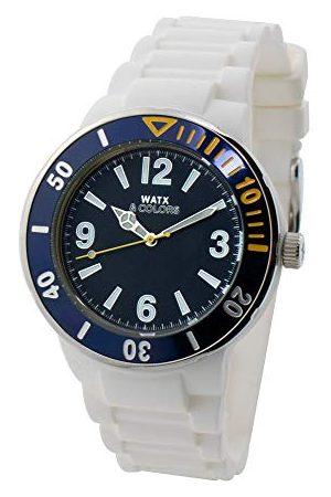 Watx Analogowy zegarek kwarcowy z gumową bransoletką RWA1621-C1512