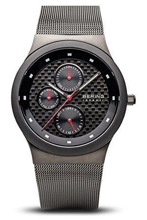 Bering Męski analogowy zegarek kwarcowy z paskiem ze stali nierdzewnej 32139-309