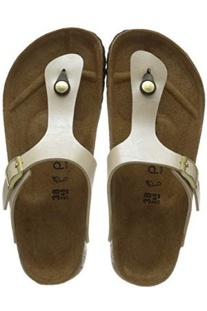 Papillio Tongs Gizeh Birko-flor Graceful Pearl White sandały damskie, perłowy - 38 EU