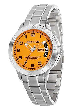 Sector No Limits Męski analogowy zegarek kwarcowy z bransoletką ze stali szlachetnej R3253578008