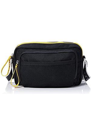 Ted Baker Męska skórzana torba na ramię, czarna, jeden rozmiar