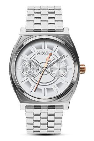 Nixon Męski analogowy kwarcowy zegarek z bransoletką ze stali szlachetnej A922SW 2445-00