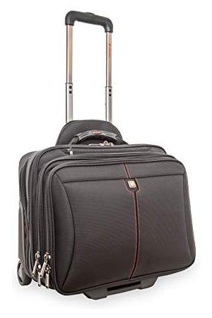 """Verbatim Frankfurt - torba na laptopa 15,6"""" z kółkami, walizka na kółkach do notebooków do 40 cm, czarna"""