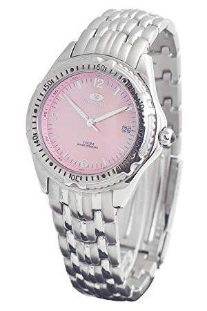 Time Force Unisex Dorośli analogowy zegarek kwarcowy z bransoletką ze stali szlachetnej TF1821M-04M