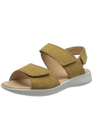 Legero Damskie sandały FANTASTIC aksamitny welur 36, brązowy - Ocra 3200-43 EU