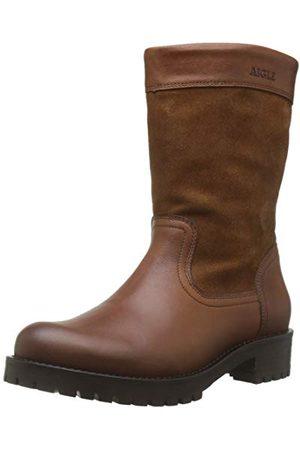 Aigle Lierzon Boot damskie buty wsuwane, - Braun Camel 001-38 EU