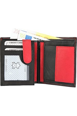 Monopol Męski portfel z prawdziwej skóry, 10 x 12 cm.
