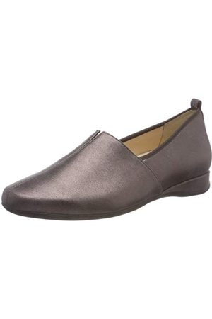 Hassia Petra, damskie pantofle, - Grün Fango 5600-38 EU