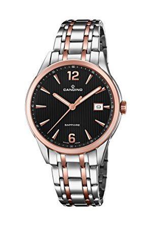 Candino Męski data klasyczny zegarek kwarcowy z bransoletką ze stali szlachetnej C4616/3