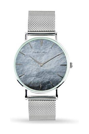 Elie Beaumont Męski analogowy japoński zegarek kwarcowy z paskiem ze stali nierdzewnej MB1805.3