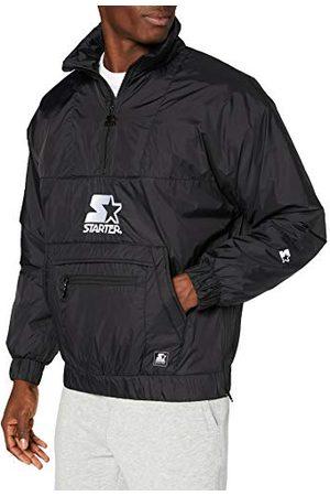 STARTER BLACK LABEL Męska kurtka przeciwwiatrowa z logo