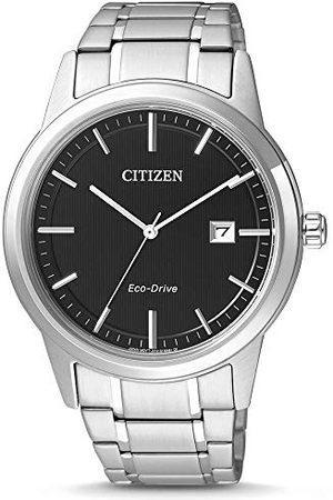 Citizen Męski analogowy zegarek kwarcowy z bransoletką ze stali szlachetnej AW1231-58E