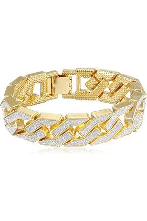 Urban classics Unisex Glitter Bracelet guzik kołnierza, ( 00109), S (rozmiar producenta: S/M)