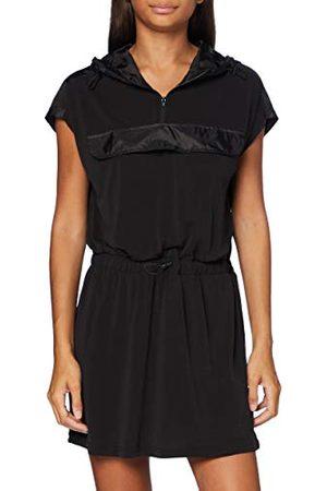 Urban classics Damska sukienka modal z kapturem