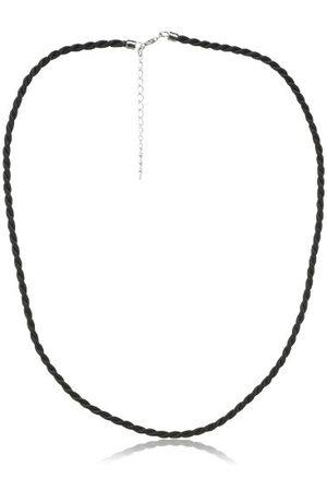 Zimtstern Uniseks naszyjnik z zawieszką czarny 45 cm z przedłużeniem 5 cm KL0009