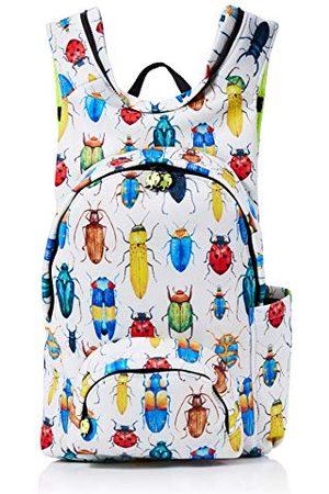 Morikukko Unisex-dorosły plecak z kapturem plecak na pluskwy wielokolorowy (bug)