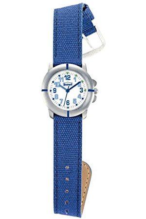 Scout Unisex analogowy zegarek kwarcowy z imitacji skóry 280390018