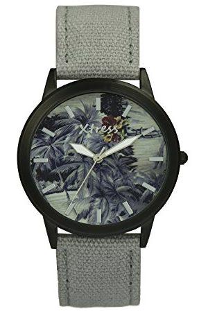 XTRESS Mężczyzna Zegarki - Męski analogowy zegarek kwarcowy z nylonową bransoletką XNA1035-58