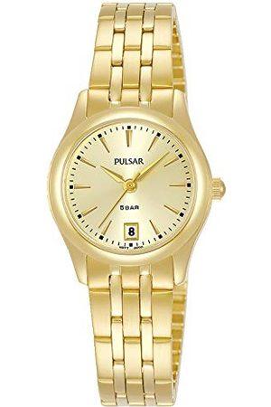 Pulsar Damski analogowy zegarek kwarcowy z metalową bransoletką PH7536X1
