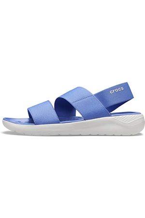Crocs Damskie sandały LiteRide Stretch W typu lapis białe, 42 EU