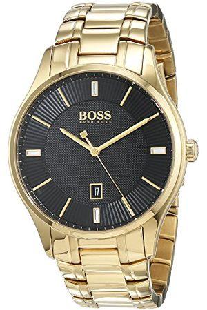 HUGO BOSS Męski analogowy klasyczny zegarek kwarcowy z paskiem ze stali nierdzewnej 1513521