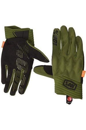 100 Percent Męskie rękawice Cognito 100% Glove Army Green/Black Lg na specjalne okazje, Verde Y Negro, Mediano